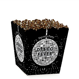 70's Disco - Party Mini Favor Boxes - Personalized 1970s Party Treat Candy Boxes - Set of 12