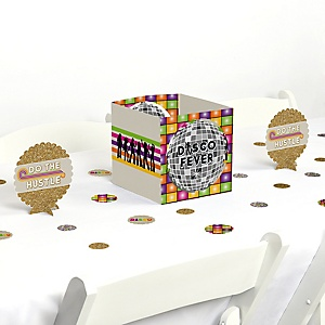 70's Disco - 1970s Disco Fever Party Centerpiece and Table Decoration Kit