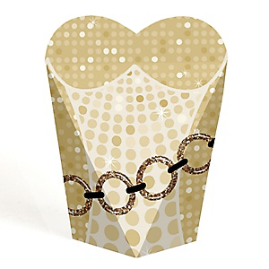 70's Disco - 1970s Party Favors - Gift Favor Boxes for Women - Set of 12