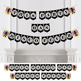 70's Disco - Personalized 1970s Party Bunting Banner & Decorations