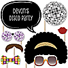 70's Disco - 20 Piece Photo Booth Props Kit