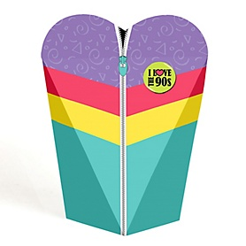 90's Throwback - 1990s Party Favors - Gift Favor Boxes for Women - Set of 12
