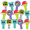 90's Throwback - 1990s Party Paddle Photo Booth Props – Selfie Photo Booth Props – Set of 14