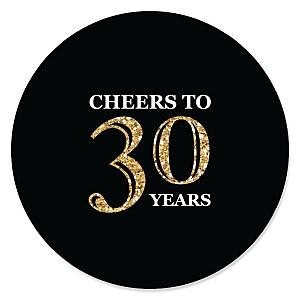 Adult 30th Birthday - Gold - Birthday Party Theme