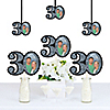 Adult 30th Birthday - Silver - Photo Decorations DIY Party Essentials - Set of 20