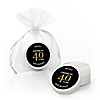 Adult 40th Birthday - Gold - Personalized Birthday Party Lip Balm Favors - Set of 12