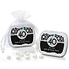 Adult 40th Birthday - Personalized Birthday Party Mint Tin Favors