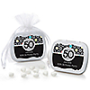 Adult 50th Birthday - Personalized Birthday Party Mint Tin Favors