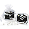 Adult 60th Birthday - Personalized Birthday Party Mint Tin Favors