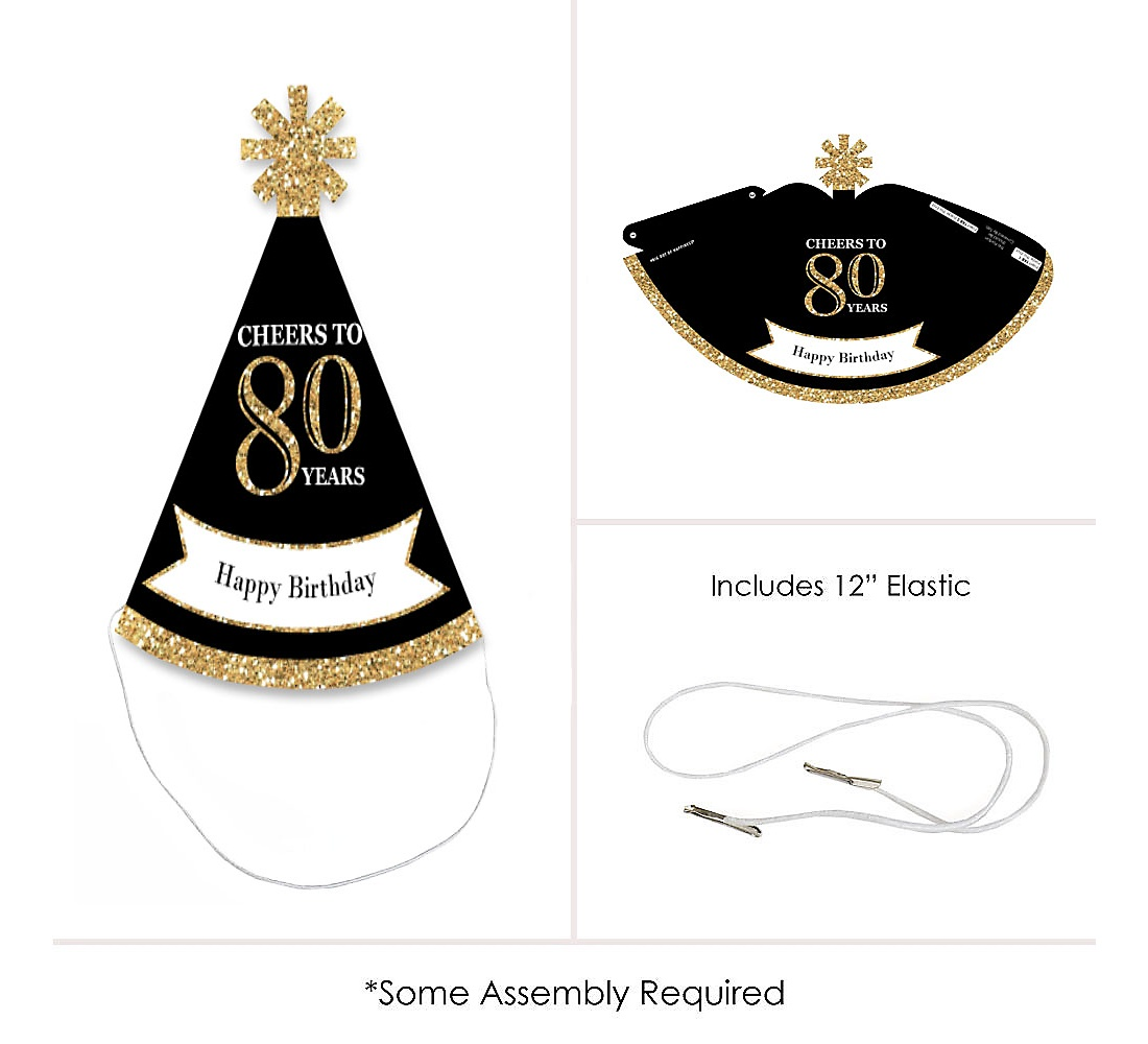 85 80th Birthday Hats