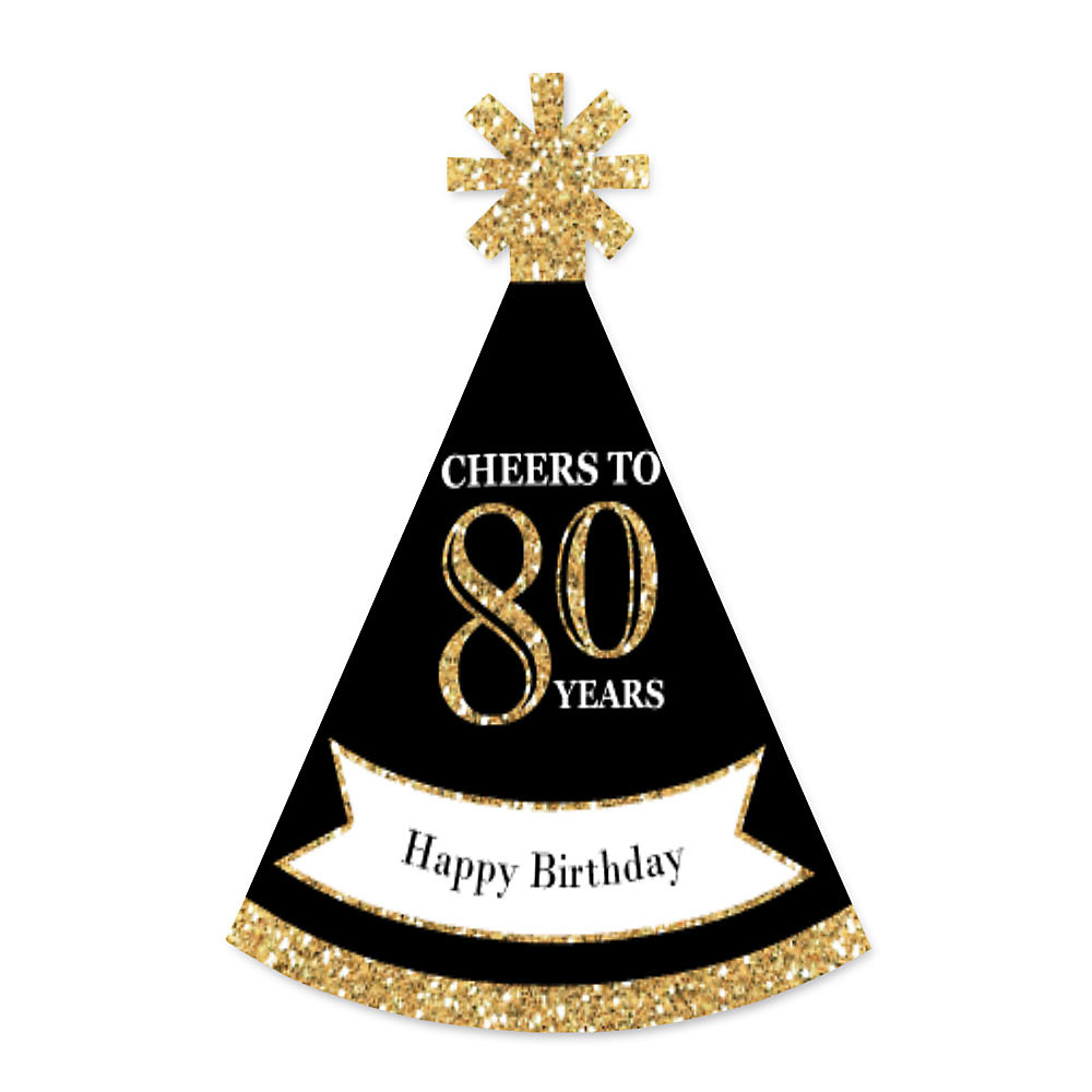 Adult 80th Birthday