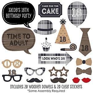 Dashingly Aged To Perfection 18th Milestone Birthday Birthday