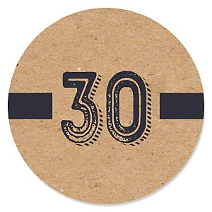 30th Milestone Birthday - Dashingly Aged to Perfection - Birthday Party Theme