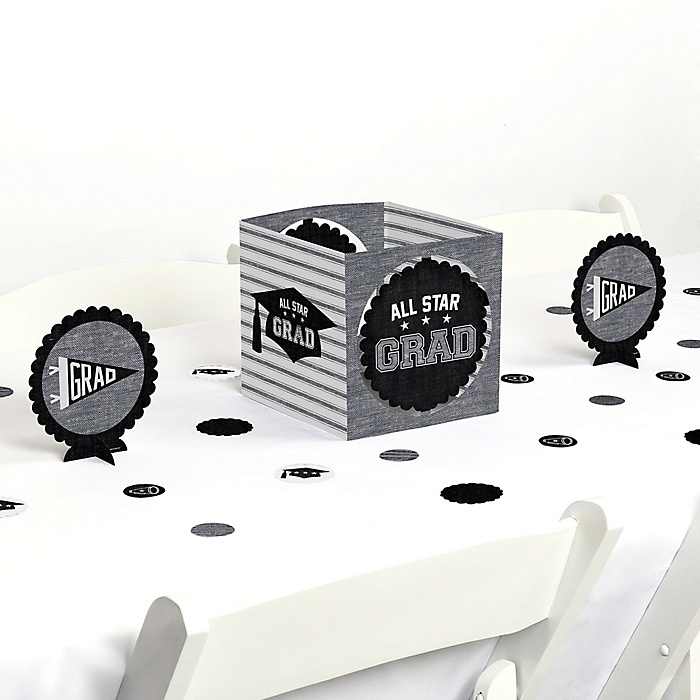 All Star Grad - Graduation Party Centerpiece & Table Decoration Kit