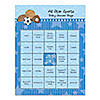 All Star Sports - Baby Shower Game Bingo Cards - 16 Count
