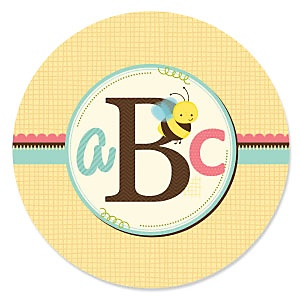 A is for Alphabet - Birthday Party Theme