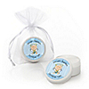 Angel Baby Boy - Personalized Baptism Lip Balm Favors