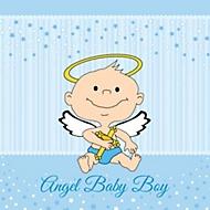 Baptism themes - Thema baby boy kamer ...