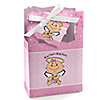 Angel Baby Girl - Personalized Baptism Favor Boxes