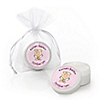 Angel Baby Girl - Personalized Baptism Lip Balm Favors