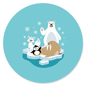 Arctic Polar Animals - Winter Party Theme