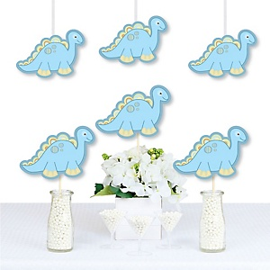 Baby Boy Dinosaur - Decorations DIY Baby Shower or Birthday Party Essentials - Set of 20