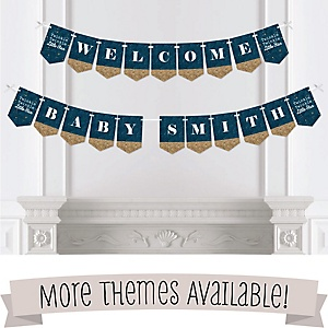 Baby Shower Bunting Banners