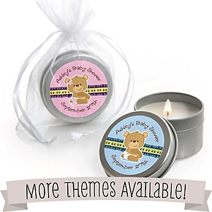 Baby Shower Personalized Candle Tins