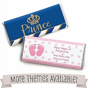 Baby Shower Personalized Candy Bar Wrappers