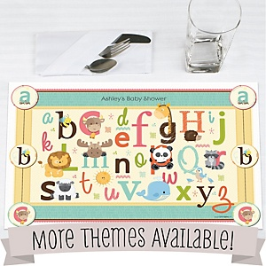 Baby Shower Placemats
