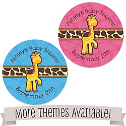 baby shower favor stickers and tags bigdotofhappiness com