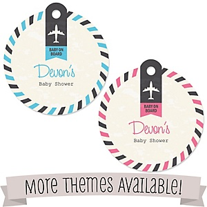Baby Shower Personalized Tags