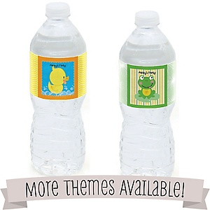 Baby Shower Personalized Water Bottle Labels
