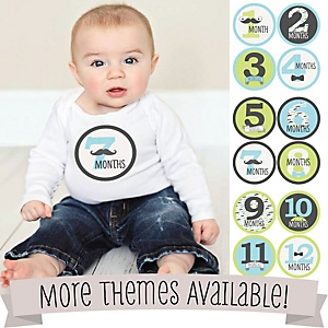 Baby's Milestone Photo Prop Sets