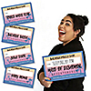 Bachella - Palm Springs Boho Bachelorette Party Mug Shots - 20 Piece Photo Booth Props Kit
