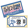 Bachella - Personalized Palm Springs Boho Bachelorette Party Game Scratch Off Dare Cards - 22 ct