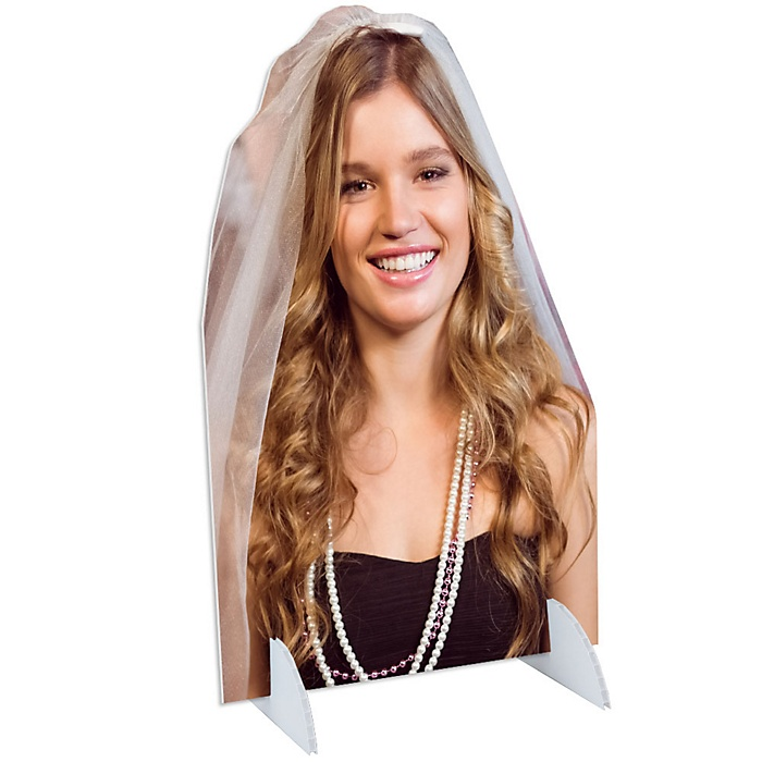 Bachelorette Party Photo Cutout Stand - Custom Picture Cut Out Party Decorations - Upload 1 Photo - Photo Stand - 1 Piece