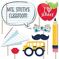 Back To School 20 Piece 1st Day Of School Decorations And Photo
