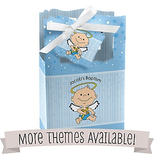 Baptism Personalized Favor Boxes