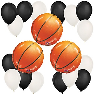 Nothin' But Net - Basketball - Baby Shower Balloon Kit