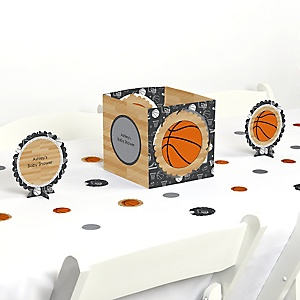 Nothin' But Net - Basketball - Baby Shower Centerpiece & Table Decoration Kit