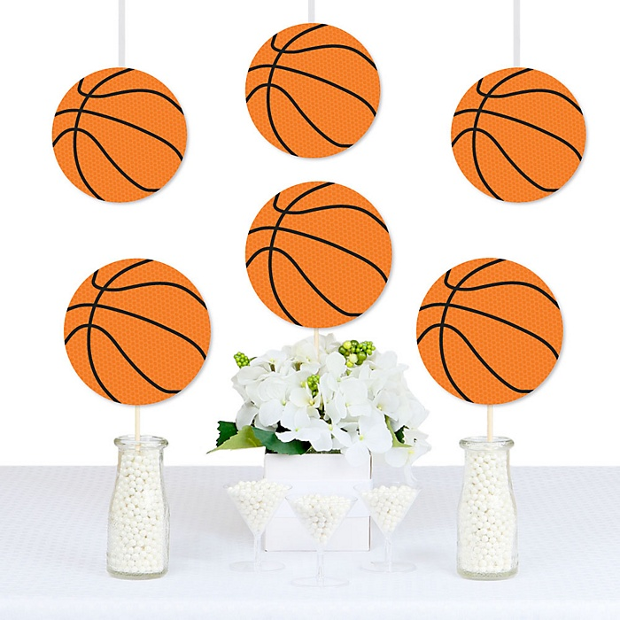Nothin' But Net - Basketball - Decorations DIY Baby Shower or Birthday Party Essentials - Set of 20