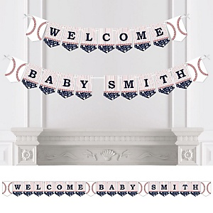 Batter Up - Baseball - Personalized Party Bunting Banner & Decorations