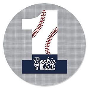 1st Birthday Batter Up - Baseball - First Birthday Party Theme