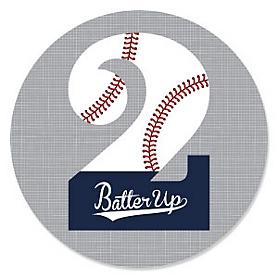 2nd Birthday - Batter Up - Baseball Second Birthday Party Theme