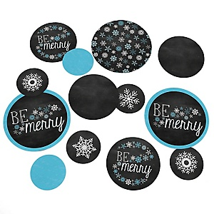 Be Merry - Holiday Party Table Confetti - 27 ct