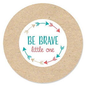 Be Brave Little One - Boho Tribal - Birthday Party Theme