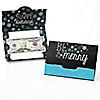 Be Merry - Set of 8 Snowflake Holiday & Merry Christmas Party Money And Gift Card Holders