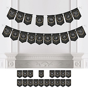 Best Day Ever - Personalized Bridal Shower Bunting Banner & Decorations