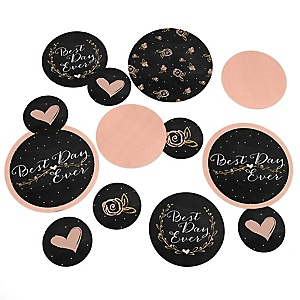 Best Day Ever - Bridal Shower Table Confetti - 27 ct